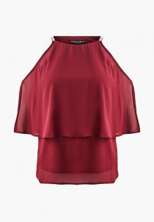Блуза Dorothy Perkins. Цвет: бордовый