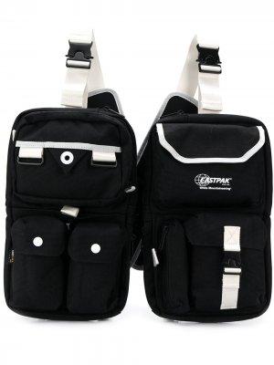 Нагрудная сумка с несколькими отделениями Eastpak. Цвет: черный