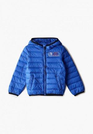 Куртка утепленная Diesel. Цвет: синий