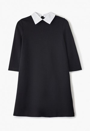 Платье Button Blue. Цвет: черный
