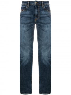 Прямые джинсы Diesel. Цвет: синий