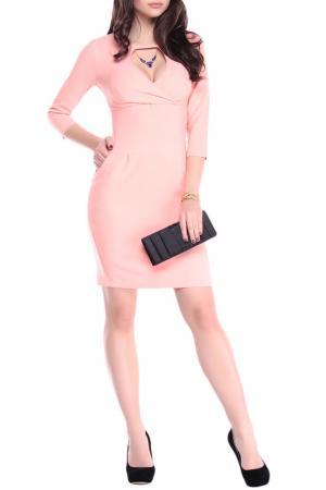 Платье Laura Bettini. Цвет: персиковый