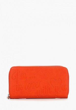Кошелек Camomilla Italia. Цвет: оранжевый