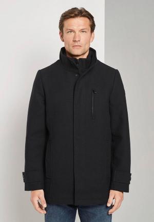Пальто Tom Tailor. Цвет: синий