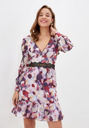 Платье True Decadence. Цвет: разноцветный