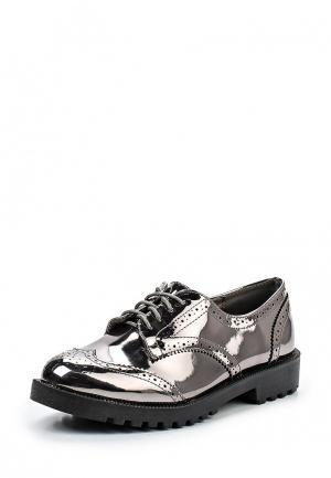 Ботинки Buonarotti. Цвет: серебряный