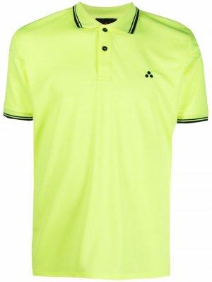 Рубашка поло с короткими рукавами Peuterey. Цвет: желтый