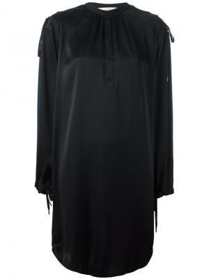Платье Drums A.F.Vandevorst. Цвет: чёрный