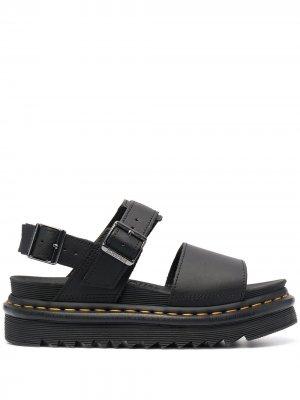 Массивные сандалии Dr. Martens. Цвет: черный