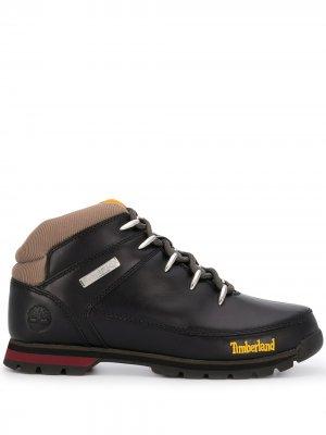 Ботинки на шнуровке Timberland. Цвет: черный