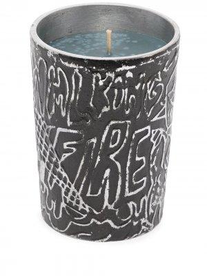 X Diesel Burning Down the House candle Seletti. Цвет: черный