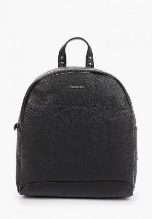 Рюкзак Desigual. Цвет: черный