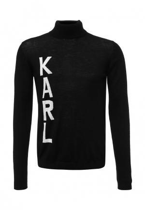 Водолазка Karl Lagerfeld. Цвет: черный