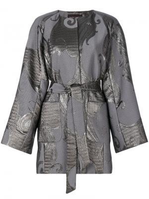 Куртка Nubia Talbot Runhof. Цвет: серый