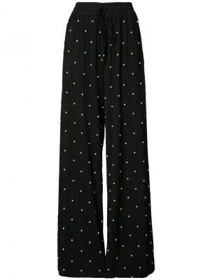 Пижамные брюки со шнурком Prabal Gurung. Цвет: черный