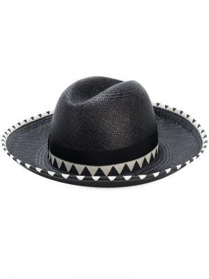 Шляпа-панама Claudette Borsalino. Цвет: черный
