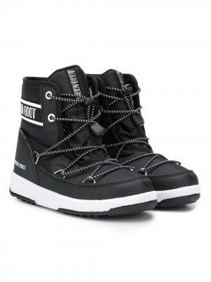 Ботинки Moon на шнуровке Boot Kids. Цвет: черный