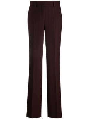 Прямые брюки Salvatore Ferragamo. Цвет: красный