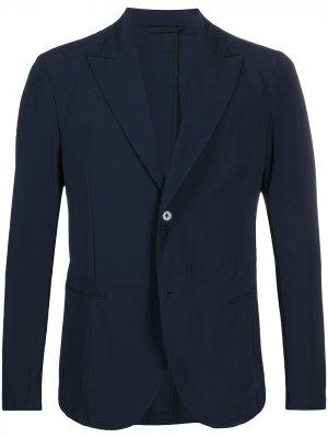 Однобортный пиджак Hydrogen. Цвет: синий