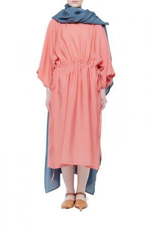 Платье Cyrille Gassiline. Цвет: синий