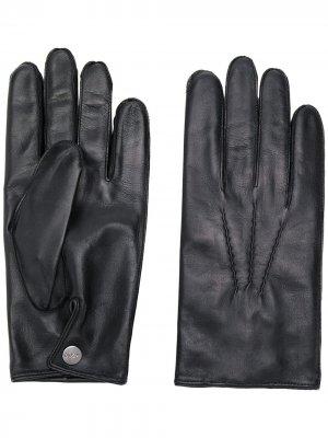 Перчатки с подкладкой N.Peal. Цвет: черный