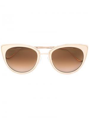 Солнцезащитные очки Vagenius II Chrome Hearts. Цвет: белый