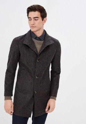 Пальто Strellson. Цвет: коричневый
