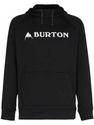 Джемпер с капюшоном и аппликацией на груди Burton Ak. Цвет: черный