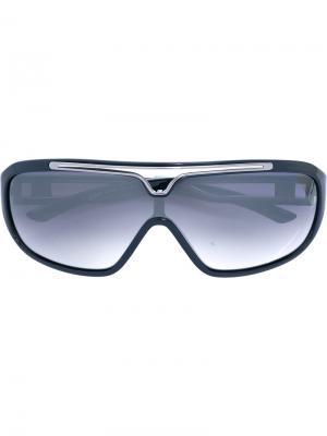 Большие солнцезащитные очки Jean Paul Gaultier Pre-Owned. Цвет: синий
