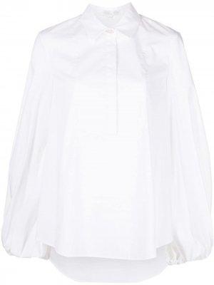Рубашка Kensley с объемными рукавами Caroline Constas. Цвет: белый