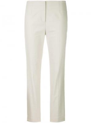 Облегающие брюки Les Copains. Цвет: нейтральные цвета