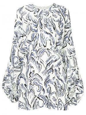 Платье А-силуэта CAMILLA AND MARC. Цвет: синий