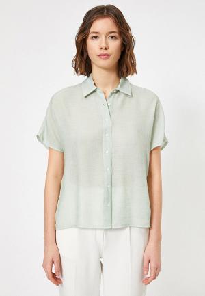Рубашка Koton. Цвет: хаки