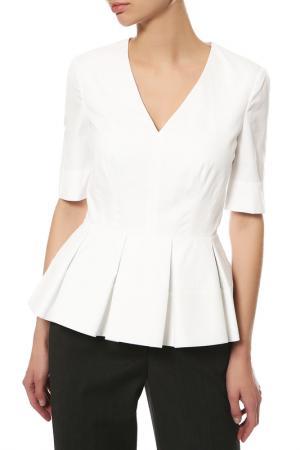 Блуза Balenciaga. Цвет: белый