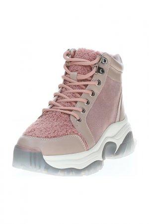 Ботинки LIBELLEN. Цвет: розовый