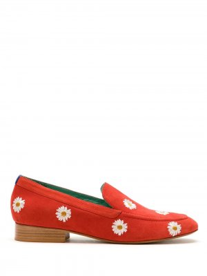 Лоферы Daisy boyish 15 Blue Bird Shoes. Цвет: красный