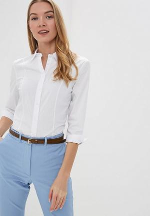 Рубашка Marks & Spencer. Цвет: белый